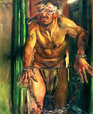 Lovis Corinto. The Blinded Samson