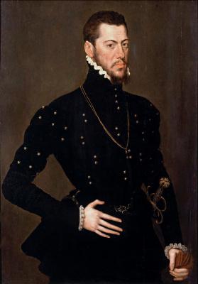 Антонис ван Дасхорст Мор. Портрет Мартина Арагонского, герцога Вильяэрмоса