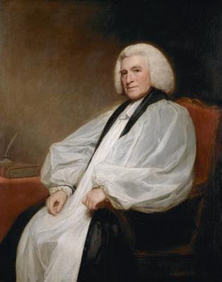 George Romney. Edmund Lowe, Bishop of Carlisle