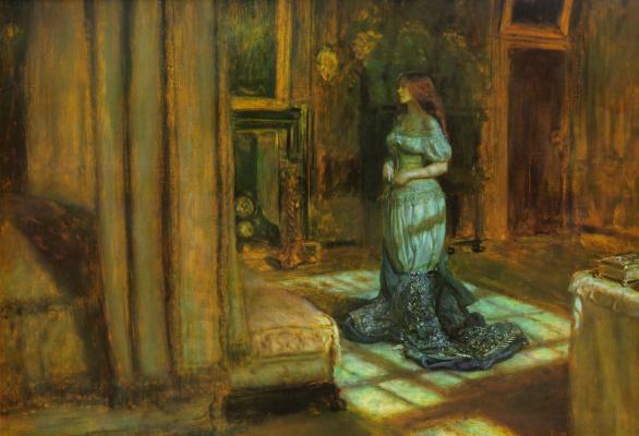 John Everett Millais. Before St. Agnes