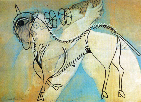 Francis Picabia. Horse