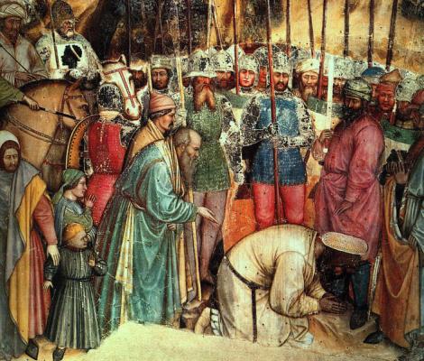 Алтичиеро. Усекновение главы Святого Георгия
