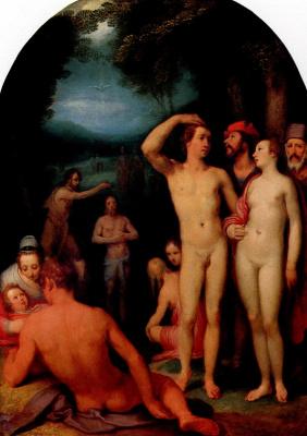 Cornelis van Haarlem. Baptism