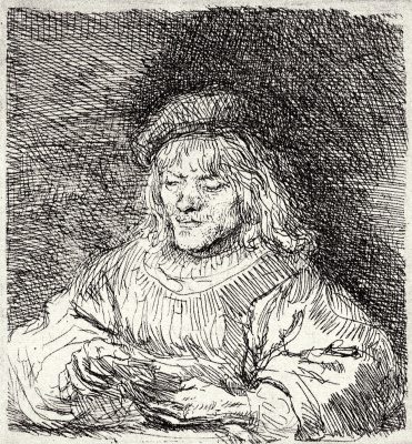 Рембрандт Харменс ван Рейн. Игрок в карты