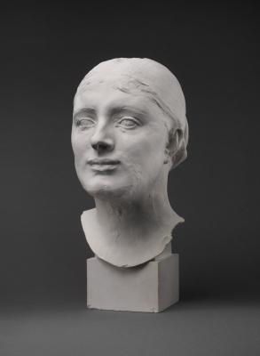 Auguste Rodin. Head Mrs. Russell