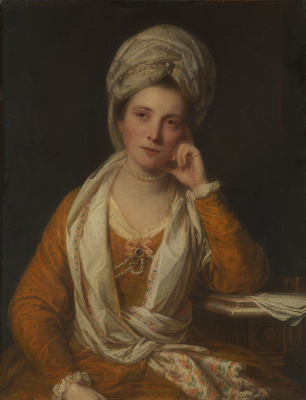 Joshua Reynolds. Mrs. Horton, later Viscountess Maynard