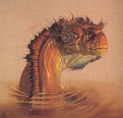Ларс Грант. Голова дракона