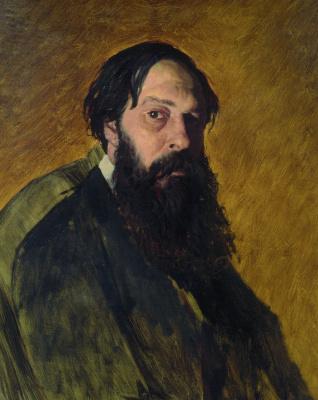 Vasily Grigorievich Perov. Portrait of the artist Alexei Kondratyevich Savrasov