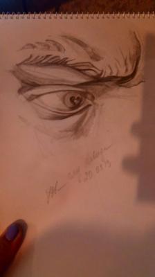Julia Alekseevna Ovcharenko. Eye of david