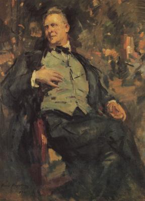 Konstantin Korovin. Portrait Chaliapin