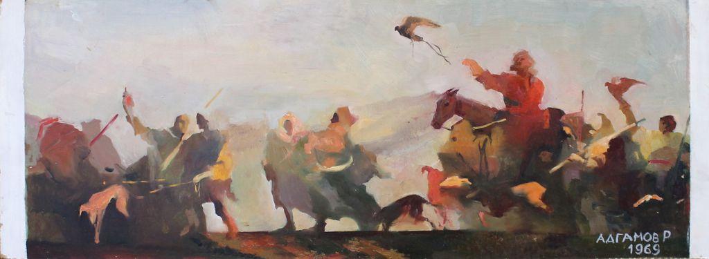 Rashid Abdulovich Adgamov. On the hunt
