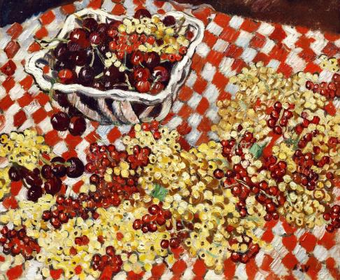 Louis Walt. Cherries and currants.
