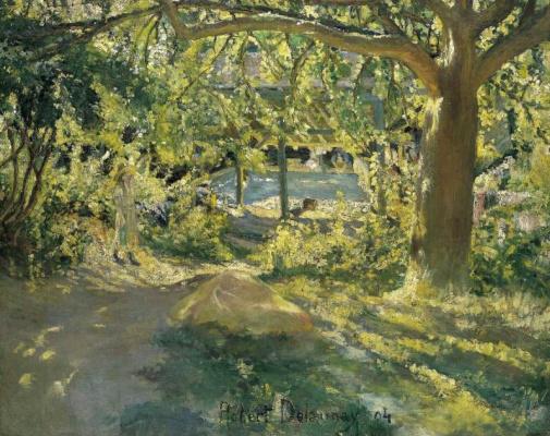 Robert Delaunay. Landscape