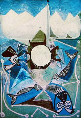 Пабло Пикассо. Улисс и сирены