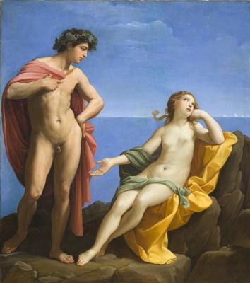 Guido Reni. Bacchus and Ariadne