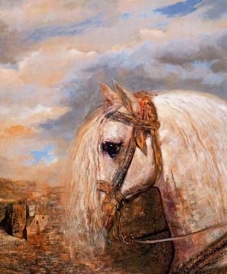 Гинес Лиебана. Белая лошадь