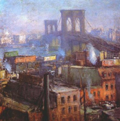 Эдмунд Уильям Грисен. Бруклинский мост