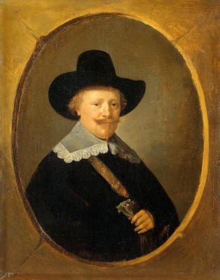 Герард Доу. Мужской портрет
