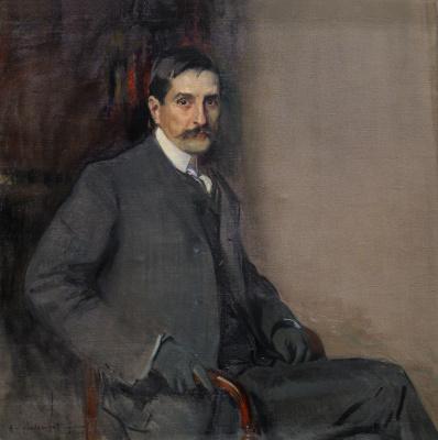 Joaquín Sorolla. Dr. Francisco rodríguez de Sandoval