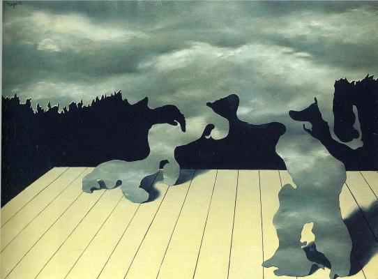 Рене Магритт. Мускулы неба