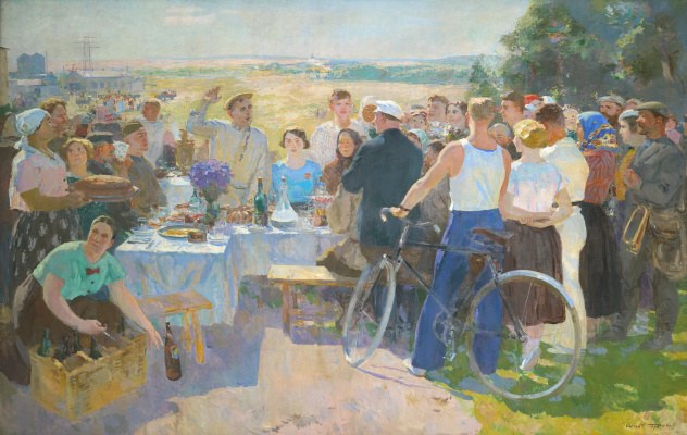 Sergey Vasilyevich Gerasimov. Collective holiday
