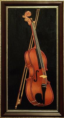 Виктор Петрович Бурмин. Etude with violin # 4.