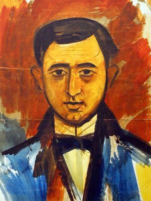 Михаил Львович Бойчук. Портрет мужчины.