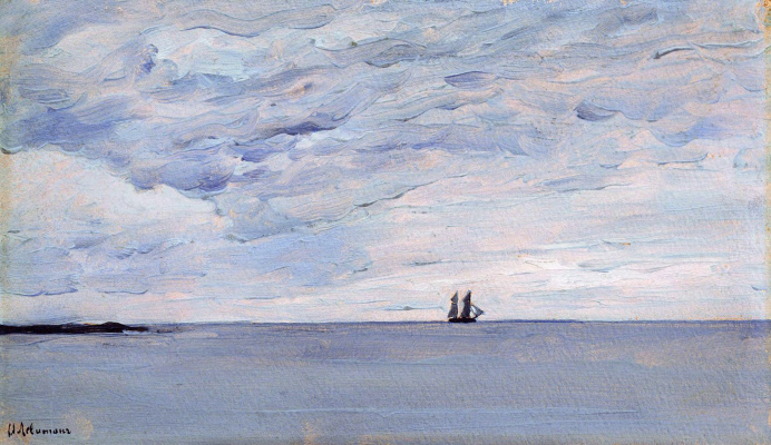 Исаак Ильич Левитан. Море у финляндских берегов