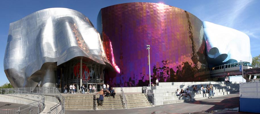 Frank Owen Gehry. Museum of Pop Culture