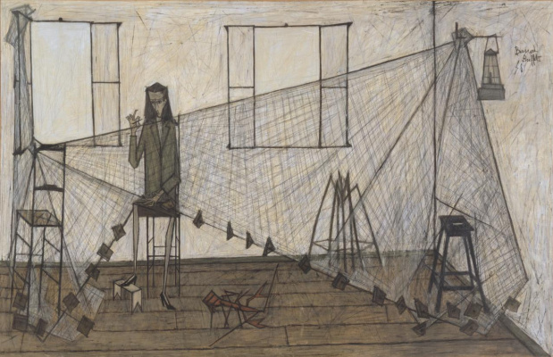 Bernard Buffet. Darning networks