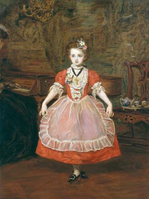 John Everett Millais. Minuet (Portrait Of EFFIE)