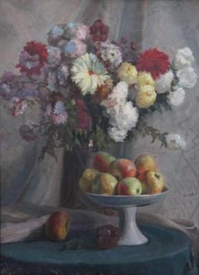 Alevtina Nikolaevna Bezukladnikova. Autumn bouquet