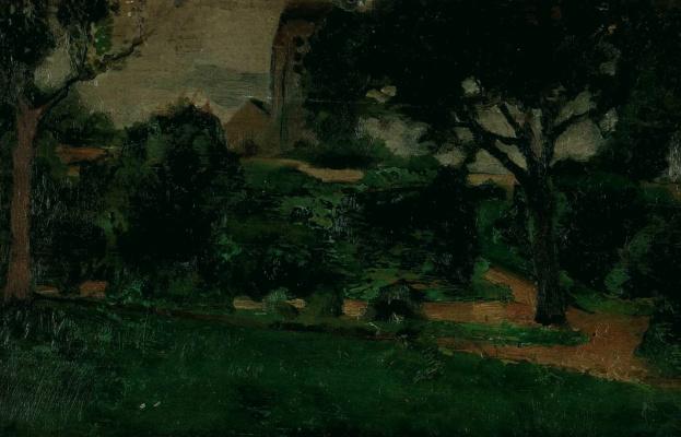 Marie Lorenzen. Landscape