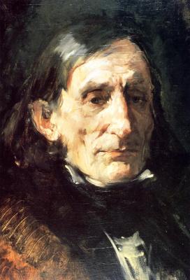 Фрэнк Дувенек. Портрет мужчины