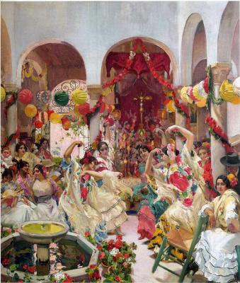 Хоакин Соролья (Соройя). Севилья. Танец