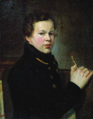 Alexander Grigorievich Varnek. Portrait of a young artist. Donetsk Regional Art Museum