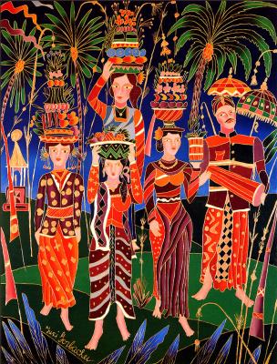 Юрий Горбачев. Индонезийская церемония