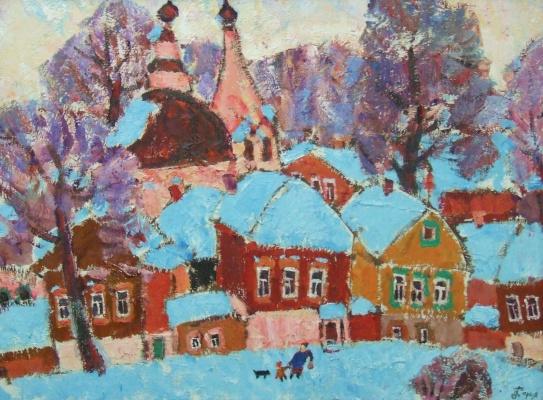 Дарья Тимошкина. Зимний городок