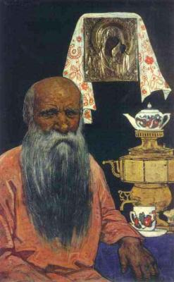Илья Сергеевич Глазунов. Русский мужик.1967