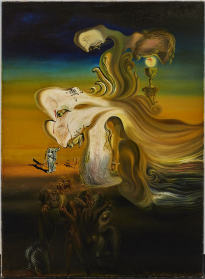 Salvador Dali. Desecration stay