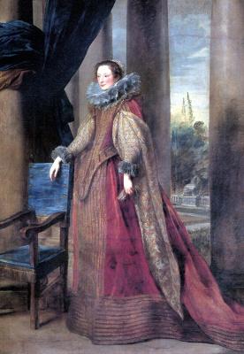 Антонис ван Дейк. Предполагаемый портрет маркизы Джеронимы Спинола-Дориа