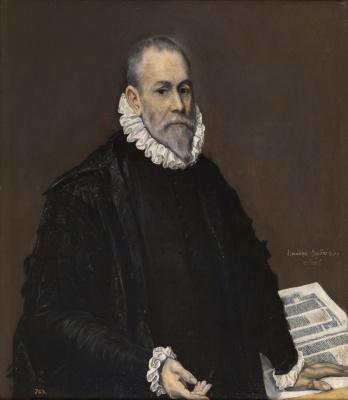 Domenico Theotokopoulos (El Greco). Portrait of a doctor
