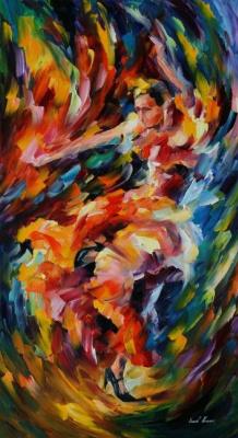 Leonid Afremov. Magic flamenco