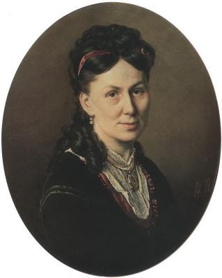 Vasily Grigorievich Perov. Portrait Avdotya Kuznetsova