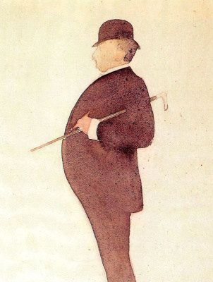 Эваристо Валле. Солидный мужчина