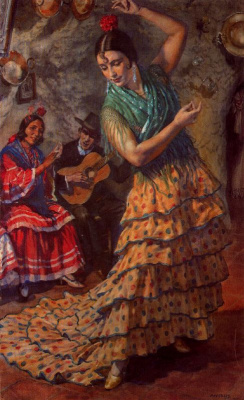 George Owen Wynne Upperley. Dancing Gypsy