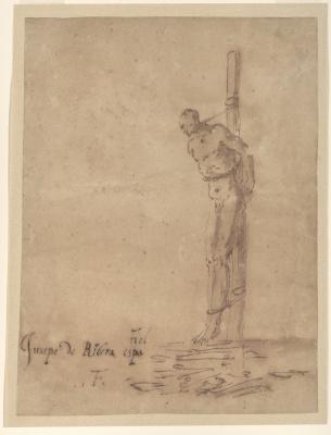 Хосе де Рибера. Человек, привязанный к колу