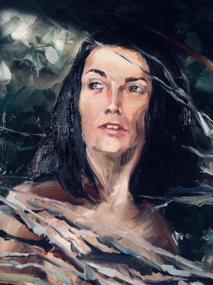 Nina Lavrentievna Chebotaeva. Portrait