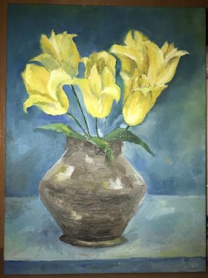 Kozachenko Anya. Yellow tulips