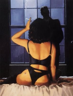 Jack Vettriano. Around midnight